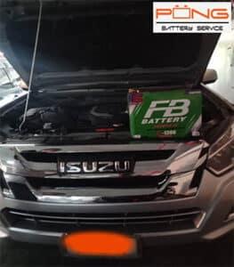 battery isuzu 4