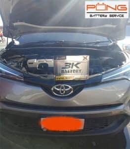 battery toyota 13